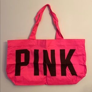 New in bag VS Pink canvas tote bag